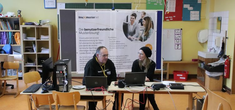 linuxmuster.net beim BarCamp in Reichelsheim